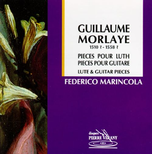 Guillaume Morlaye Lute & Guitar Pieces