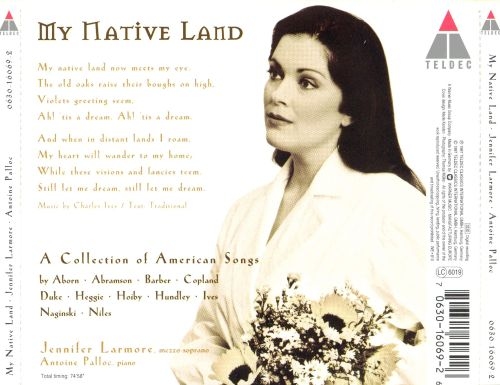My Native Land: A Collection of American Songs