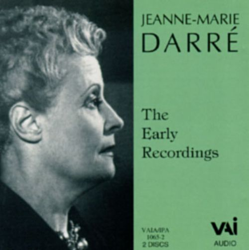 Jeanne-Marie Darré: Early Recordings