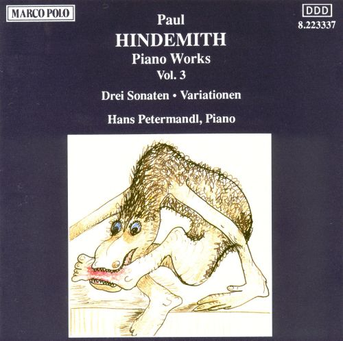Hindemith: Piano Works, Vol. 3