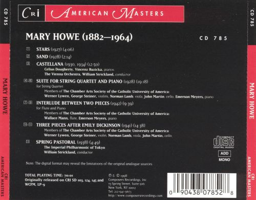 Music by Mary Howe