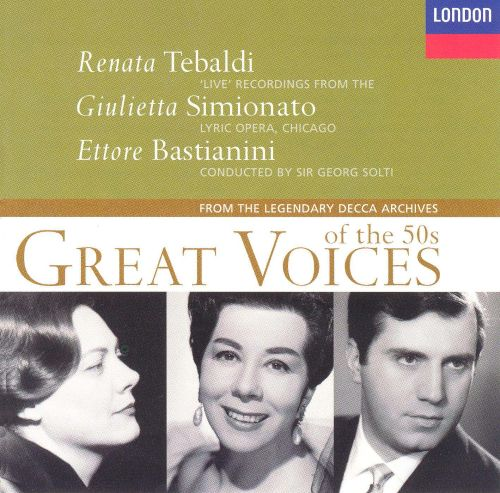 Great Voices Of The 50's, Vol. V