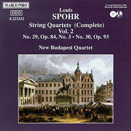 Spohr: Complete String Quartets, Vol. 2