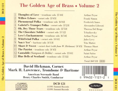 The Golden Age of Brass, Vol. 2
