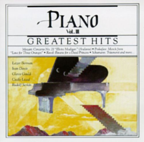 Greatest Hits - The Piano, Vol  III - Various Artists | Release Info