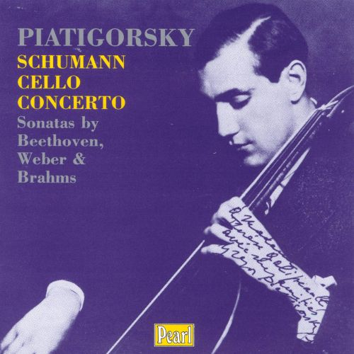 Brahms: Sonata in Em No1, Op38; Schumann: Cello Concerto in Am Op129
