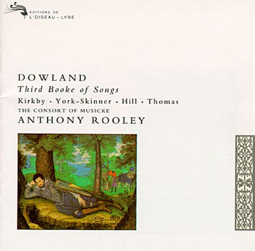 Dowland Third Booke of Songs