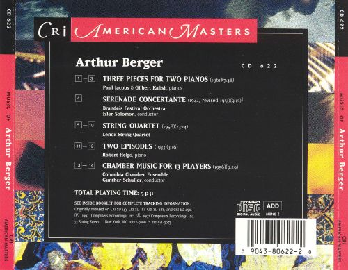 Music by Arthur Berger
