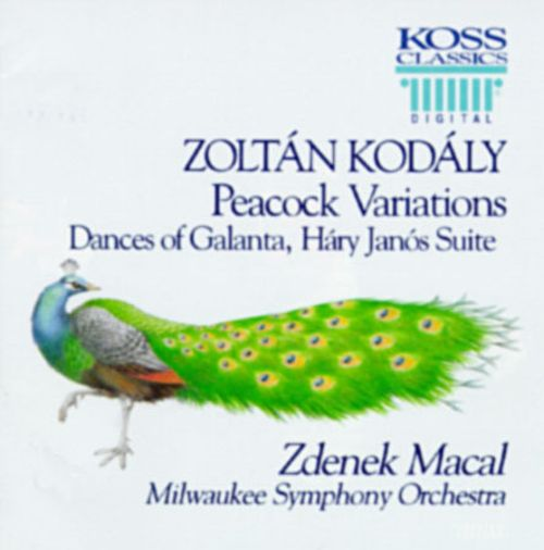 Kodály: Peacock Variations