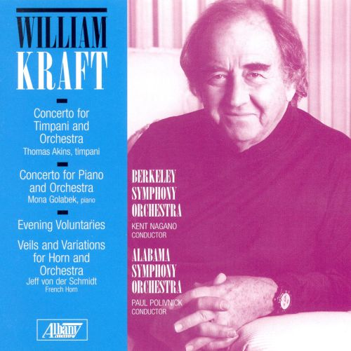 Kraft: Evening Voluntaries; Veils and Variations