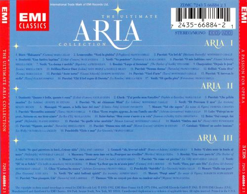 The Ultimate Aria Collection