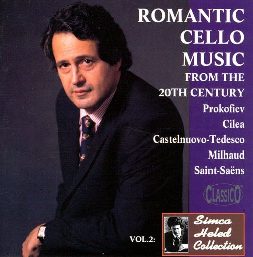 Romantic Cello Music From The 20th Century