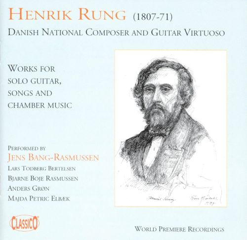 Henrik Rung: Works for Solo Guitar, Songs & Chamber Music
