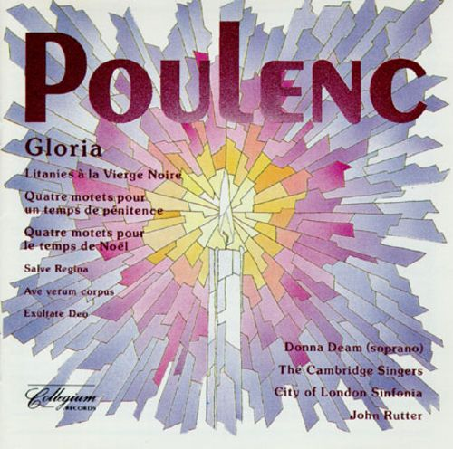Poulenc: Gloria and Other Choral Music