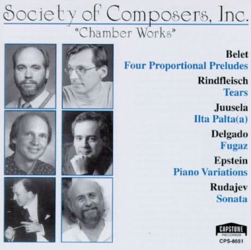Society of Composers, Inc.: Chamber Works