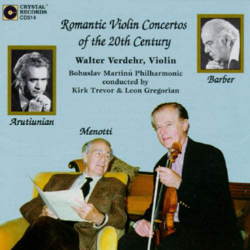 Romantic Violin Concertos of the 20th Century