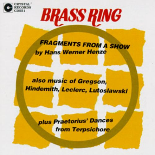 Hans Werner Henz: Fragments from a Show