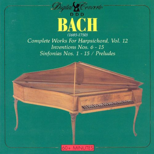 Bach: Complete Works for Harpsichord, Vol. 12