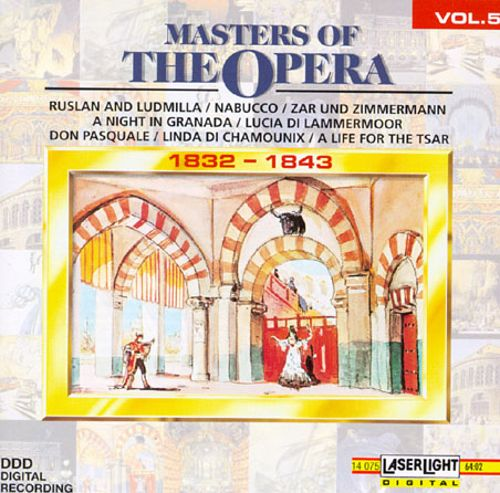 Masters of the Opera, Vol. 5, 1832-1843