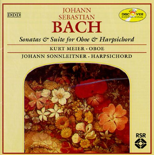 Bach: Sonatas & Suite For Oboe & Cembalo