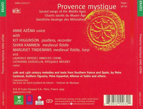 Provence mystique: Sacred songs of the Middle Ages