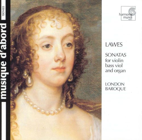 Lawes: Sonatas for Violin, Bass Viol and Organ