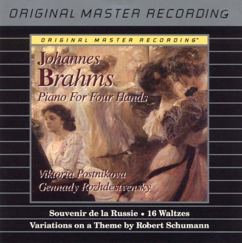 Brahms: Piano for Four Hands
