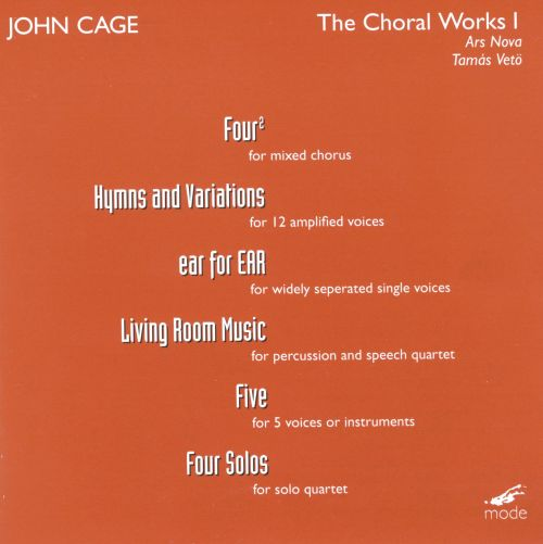 Cage: The Choral Works I ... Part 55