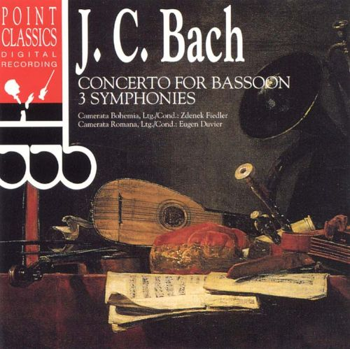 Bach: Concerto for Bassoon; 3 Symphonies