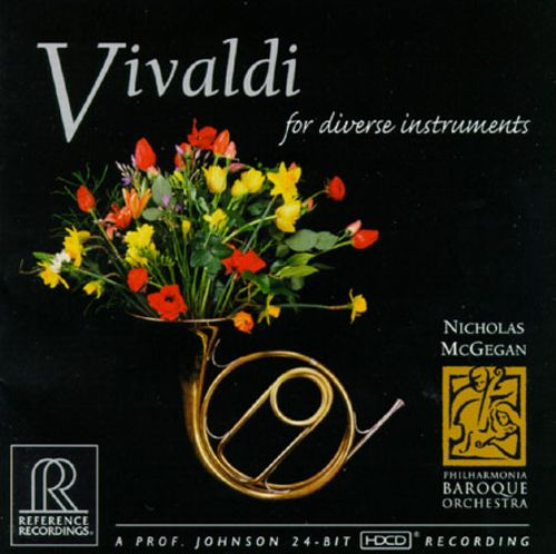 Concerto for violin, 2 oboes, 2 horns & bassoon, strings & continuo in F major, RV 568