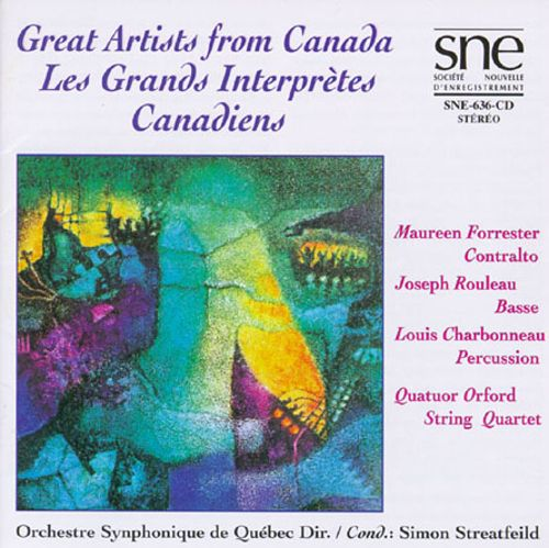 Great Artistis from Canada