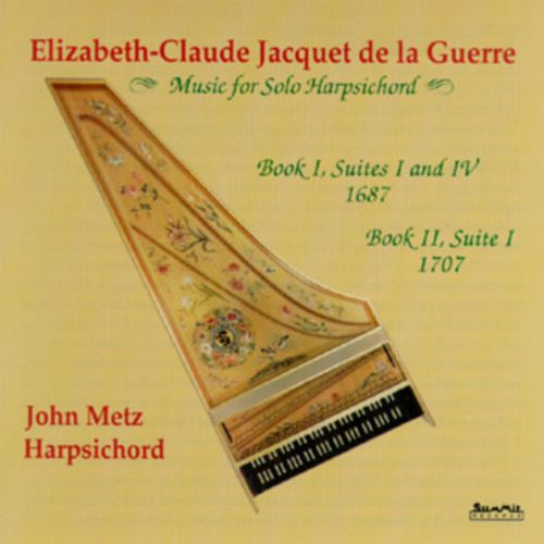 de la Guerre: Music for Solo Harpsichord