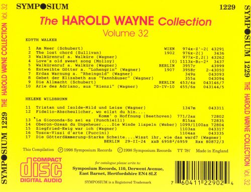 The Harold Wayne Collection, Vol. 32