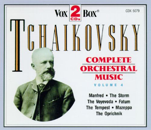 Tchaikovsky Complete Orchestral Music, Vol.4