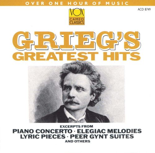 Grieg's Greatest Hits