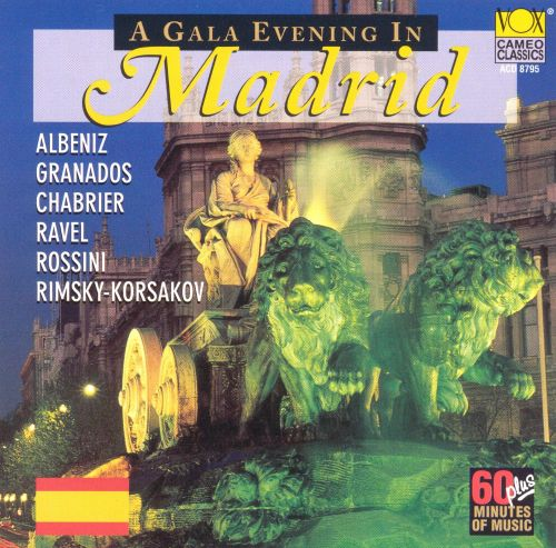 A Gala Evening in Madrid