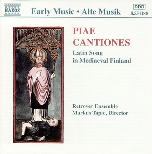 Piae Cantiones: Latin Songs in Mediaeval Finland