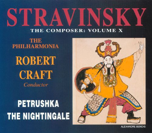 Petrushka, ballet (burlesque) in 4 scenes for orchestra (1911 version)
