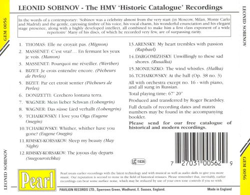 The HMV Historic Catalogue Recordings