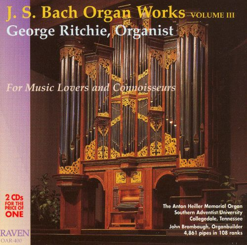J. S. Bach Organ Works Complete, Vol. 3