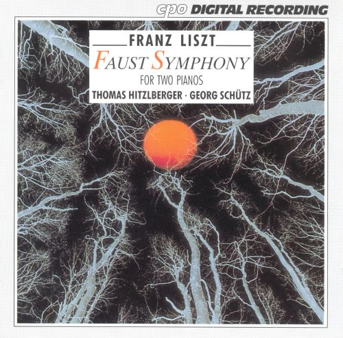 Liszt: Faust Symphony for 2 pianos