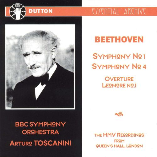 Beethoven: Symphonies Nos. 1 & 4; Leonore Overture No. 1