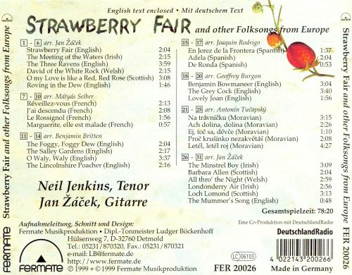 Strawberry Fair And Other Folk Songs