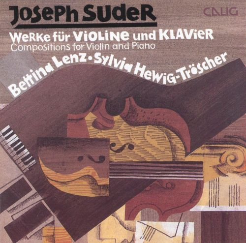 Suder: Works for Violin & Piano