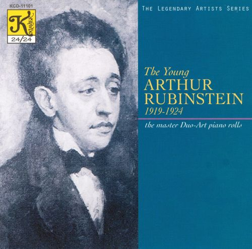 The young Arthur Rubinstein, 1919 - 1924: the master Duo-Art Piano rolls