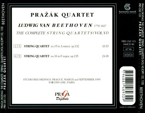 Beethoven: String Quartets, Op. 132 & 135
