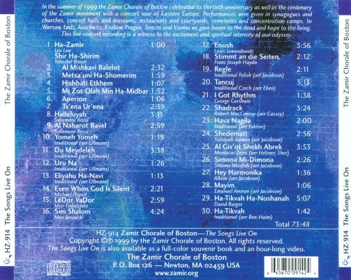 The Songs Live On (The Centenary Tour)