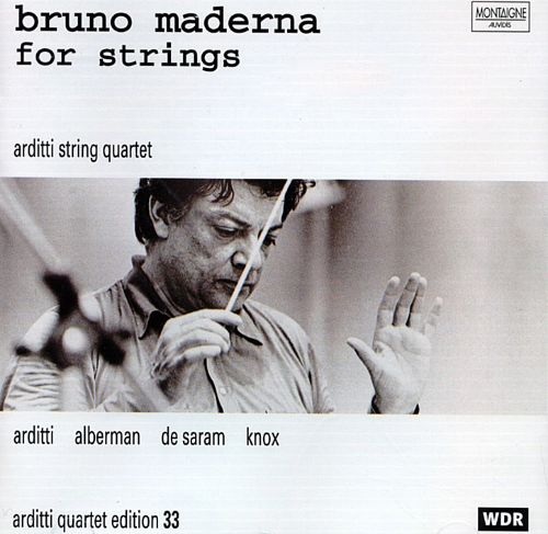Bruno Maderna for strings