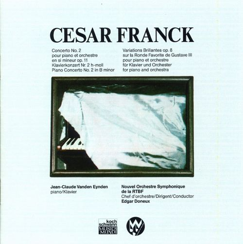 Franck: Piano Concerto No. 2; Variations Op. 8