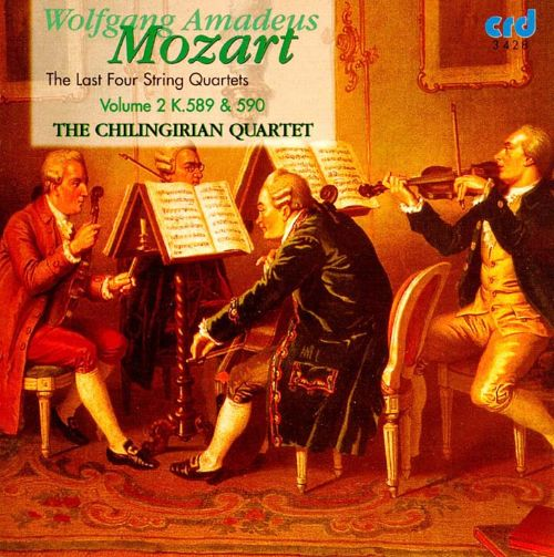 Wolfgang Amadeus Mozart: The Last Four String Quartets ...